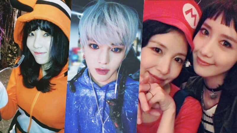 SM Idols Gift Fans With Even More Fun Photos From Their Halloween Costume Party