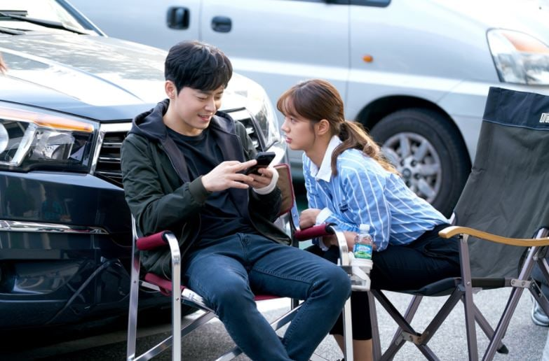 """Jo Jung Suk And Hyeri Are Close Behind The Scenes Of """"Two Cops"""""""