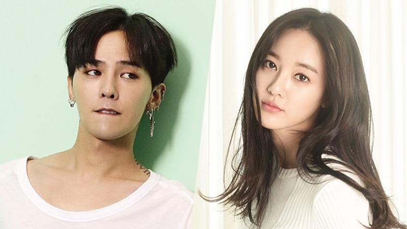 g dragon and jooyeon