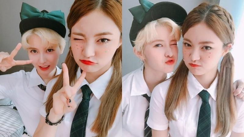 """DIA's Yebin And Somyi Share Their Experience So Far On """"The Unit"""""""