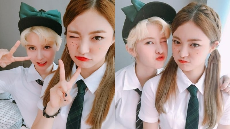 "DIA's Yebin And Somyi Share Their Experience So Far On ""The Unit"""