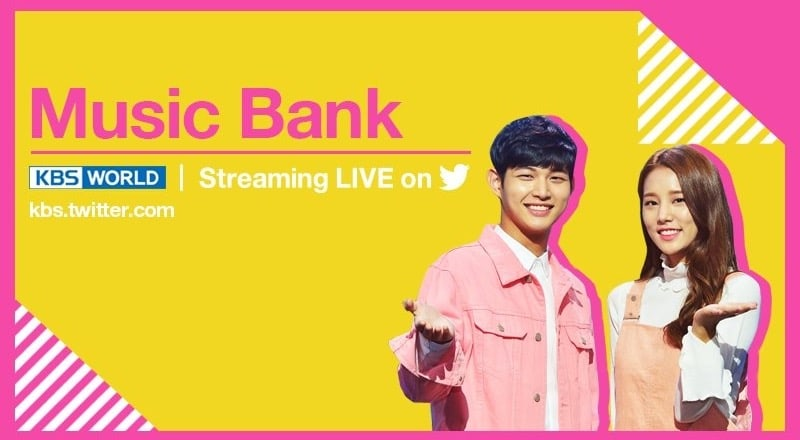 """""""Music Bank"""" To Stream Live Every Friday On Twitter"""