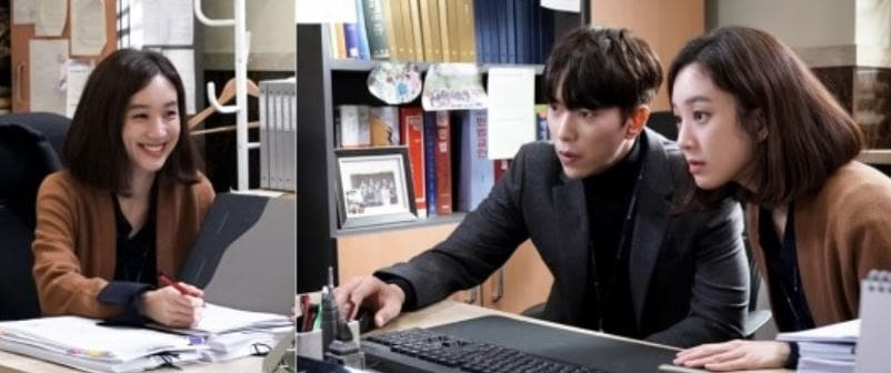 """Jung Ryeo Won, Yoon Hyun Min, And Kim Yeo Jin Have Fun Behind The Scenes Of """"Witch's Court"""""""