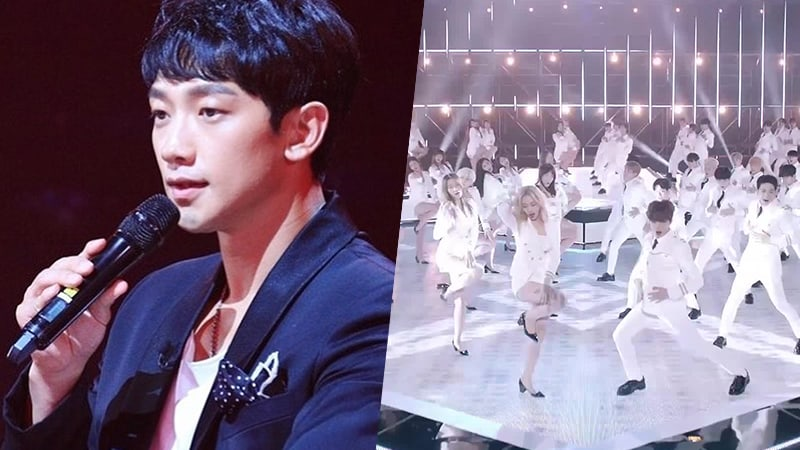 """Rain To Hold Collaboration Stage With """"The Unit"""" Contestants"""