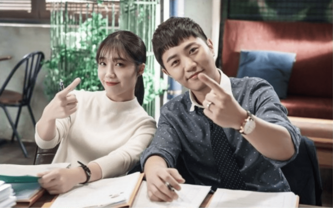 "Apink's Jung Eun Ji And Jin Goo Send Pepero Day Greetings From Set Of ""Untouchable"""