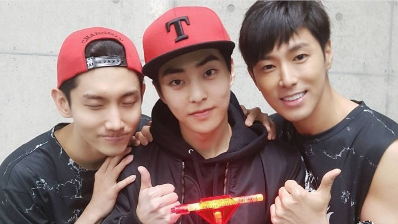 EXO's Xiumin Fanboys Over Role Models TVXQ At Their Japanese Dome Concert