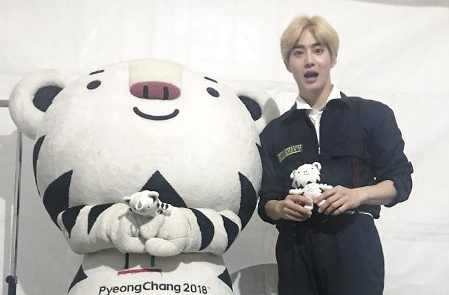 Pyeongchang Olympics Committee Reveals Why They Let EXO's Suho Borrow A Suhorang Costume