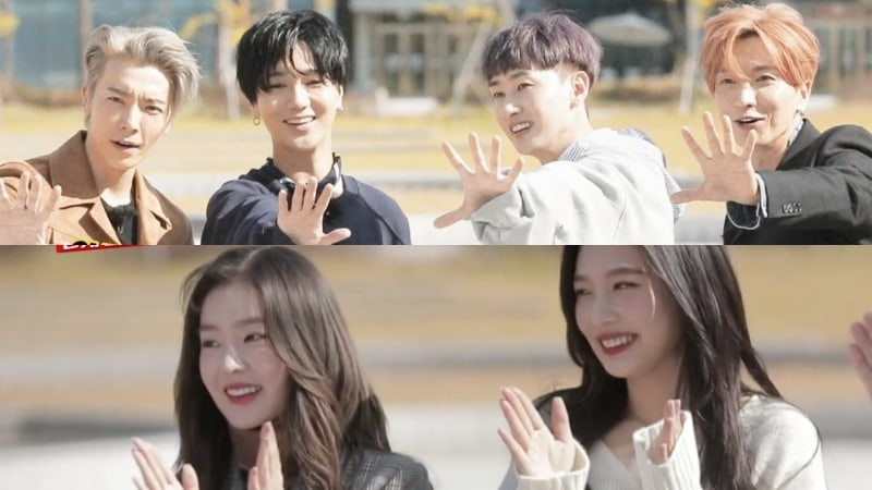 """Super Junior And Red Velvet Engage In Psychological Battles To Find """"The Spies"""" On """"Running Man"""""""