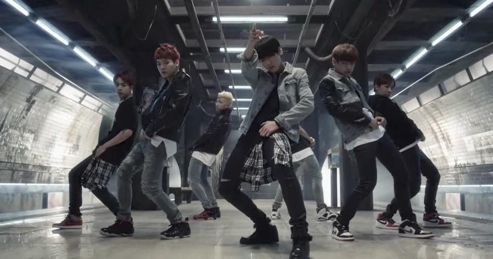"BTS's ""Danger"" Becomes Their 9th MV To Reach 100 Million Views"