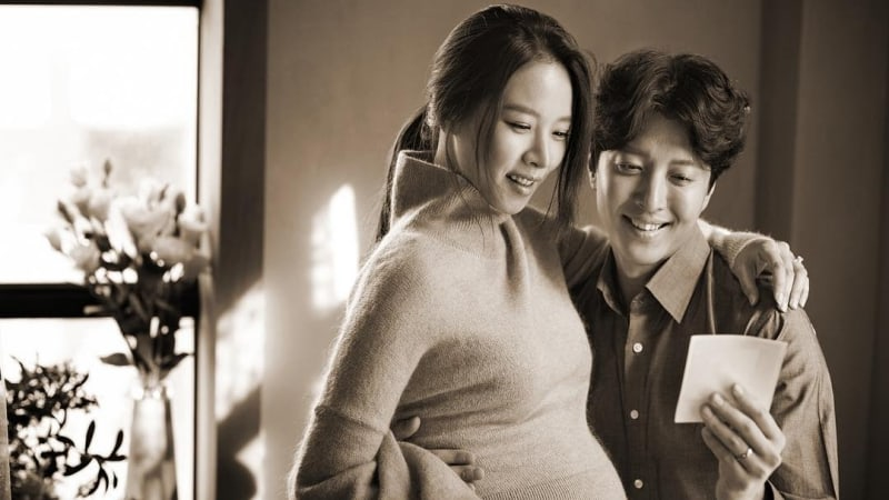 Jo Yoon Hee Shows Off Her Baby Bump In New Pregnancy Photo