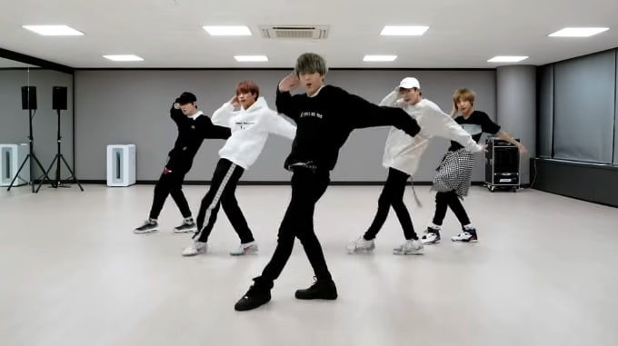 watch nct dream impresses with dance cover of super juniors black suit
