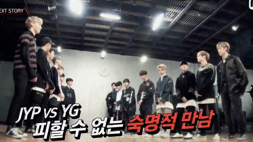 """Watch: JYP And YG Trainees Perform Rival Agency's Songs In """"Stray Kids"""" Battle Preview"""