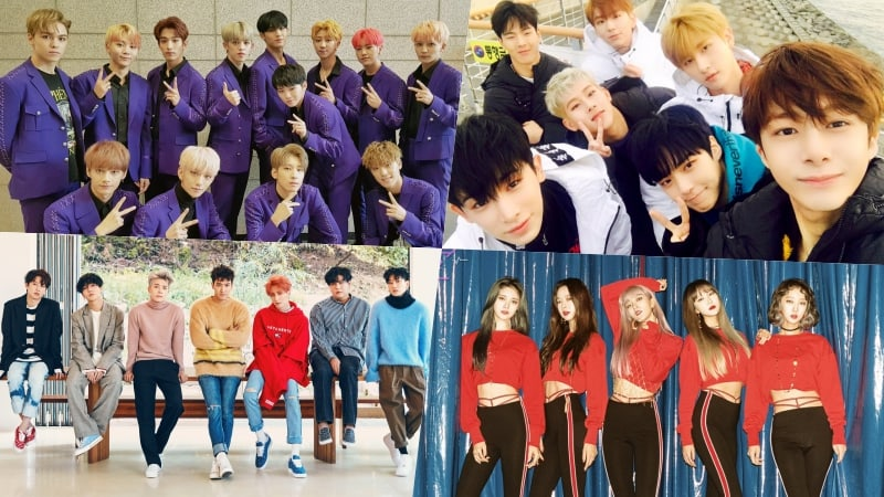 New Releases By SEVENTEEN, MONSTA X, Super Junior, EXID, And More Make Strong Debuts On Billboard's World Albums Chart