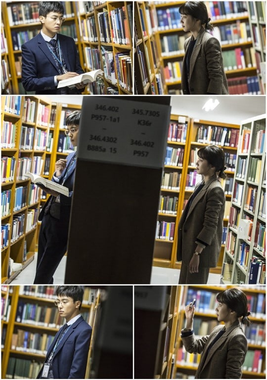 """Park Eun Bin And Yeon Woo Jin Have Fateful Encounter In Unexpected Place On """"Judge Vs. Judge"""""""