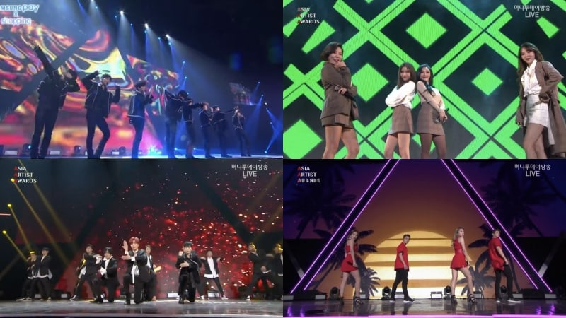 Performances From The 2017 Asia Artist Awards
