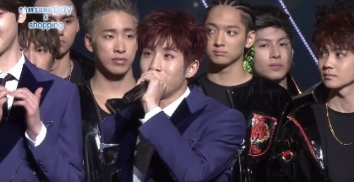 ASTRO's JinJin Tears Up During Acceptance Speech At The 2017 Asia Artist Awards