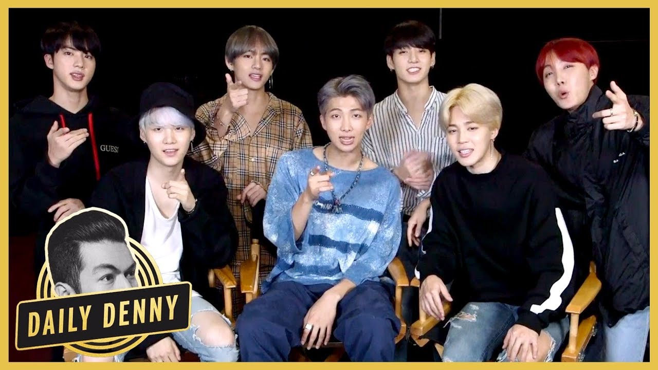 Watch: BTS Talks About Dating, True Love, And More With Entertainment Tonight