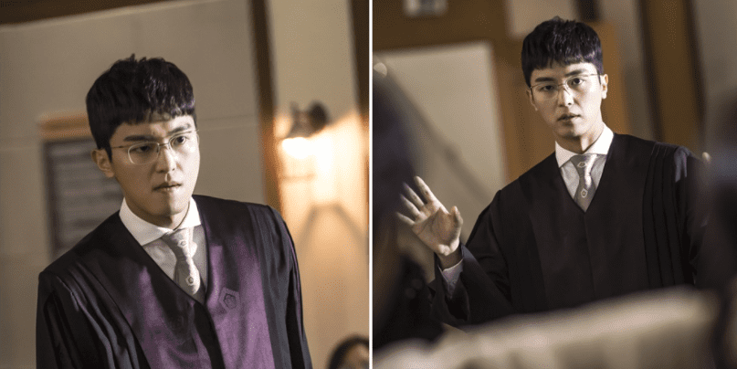 "If Looks Could Kill In New Stills Of Yeon Woo Jin From ""Judge Vs. Judge"""