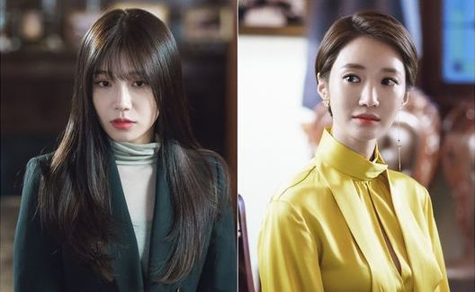 "Tension Rises As Jung Eun Ji And Go Joon Hee Meet In New ""Untouchable"" Stills"