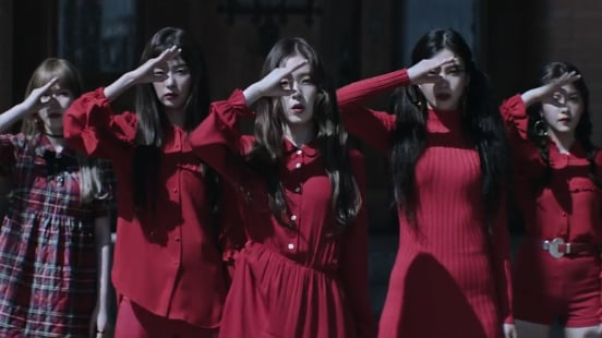 "Watch: Red Velvet Says ""Peek-A-Boo"" In Enchanting Comeback MV"