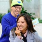 "gugudan's Kim Sejeong Makes Yoo Jae Suk Smile In ""Running Man"" Stills"