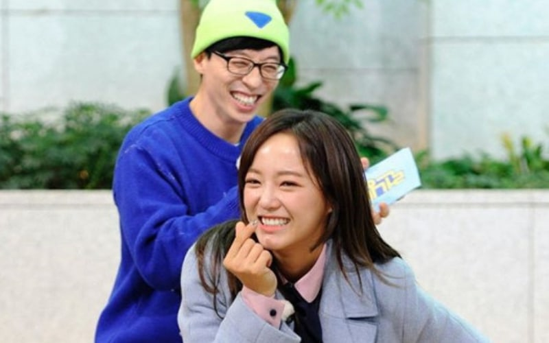 "gugudan's Kim Sejeong Makes Yoo Jae Suk Smile In ""Running Man"" Stills"