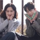"Jung Ryeo Won And Yoon Hyun Min Are Adorable Together Behind The Scenes Of ""Witch's Court"""