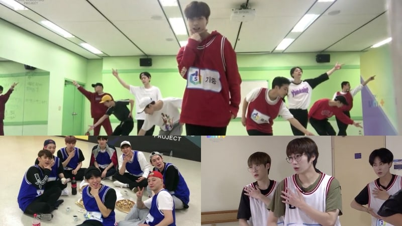 """Watch: """"The Unit"""" Male Contestants Work Hard And Have A Good Time In Dance Practice Videos"""
