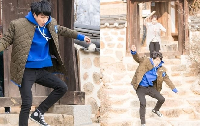 """EXO's Kai Is Hilariously Chased By His Mother In """"Andante"""" Stills"""