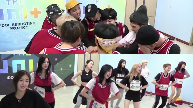 """""""The Unit"""" Teams Practice To Become Center Groups For """"My Turn"""" MV"""