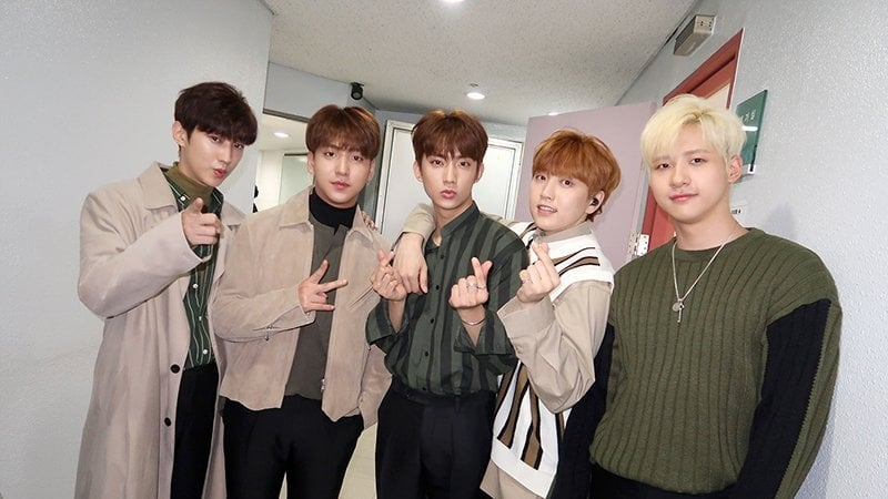 B1A4 Celebrates Jinyoung's Birthday With An Almost-Surprise Coffee Truck