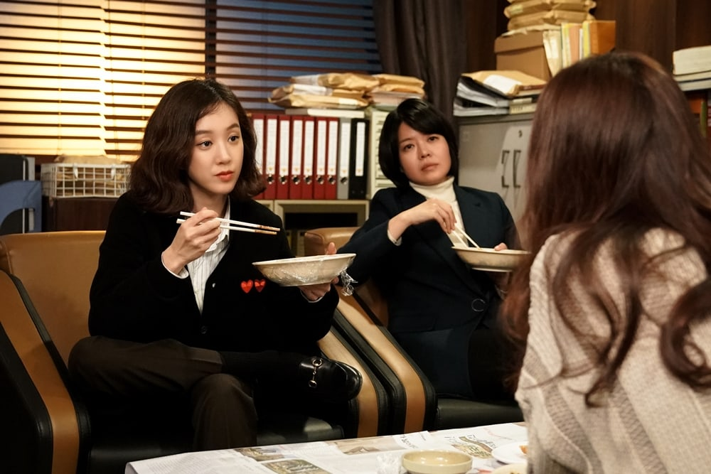 """Witch's Court"" Girl Power Trio Gather For A Strategy Meeting In New Stills"