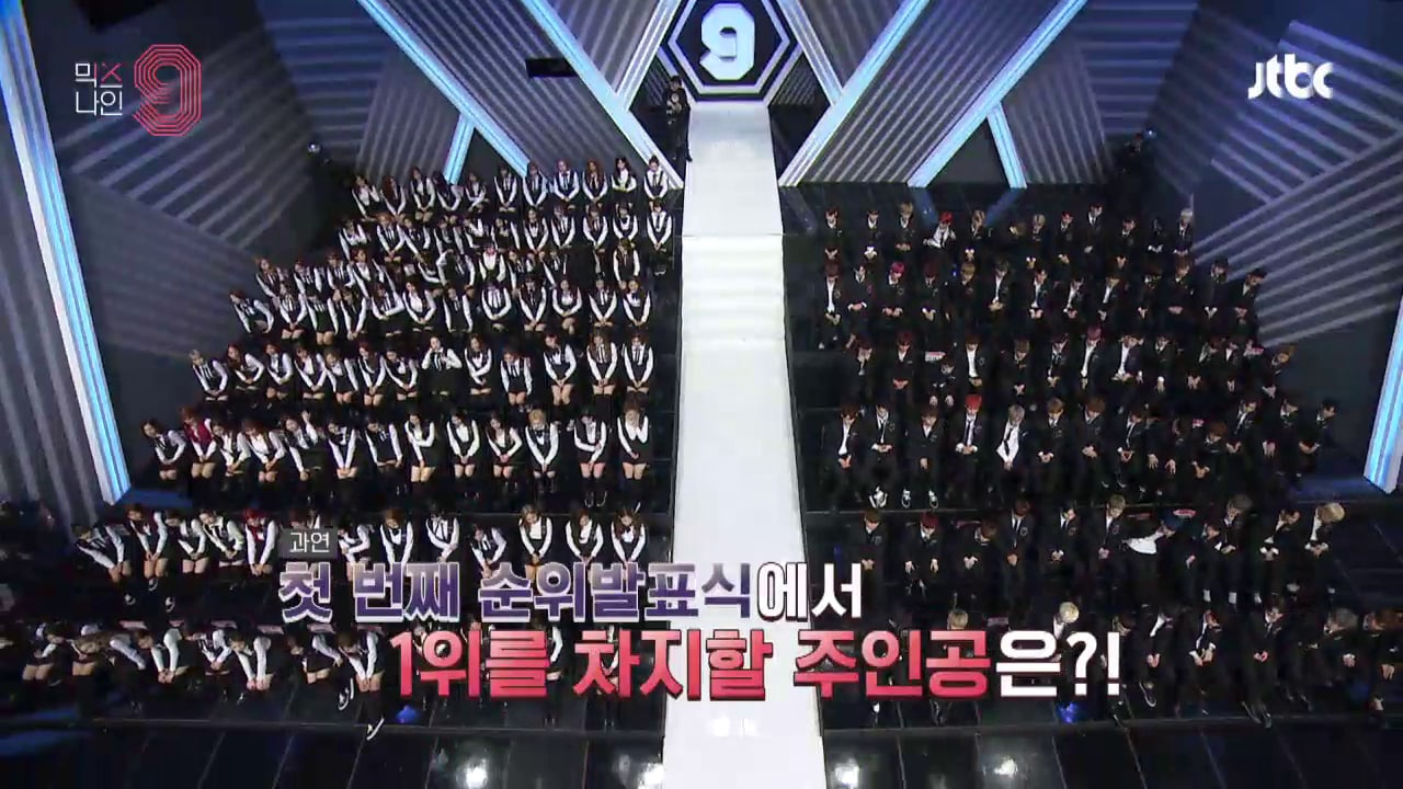 """""""MIXNINE"""" Airs Part Of First Ranking Announcement + Reveals Current Online Vote Results"""