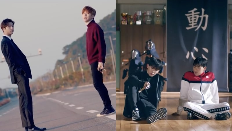 "Watch: MONSTA X Explains Storyline Behind Cinematic ""Dramarama"" MV In New Making Film"