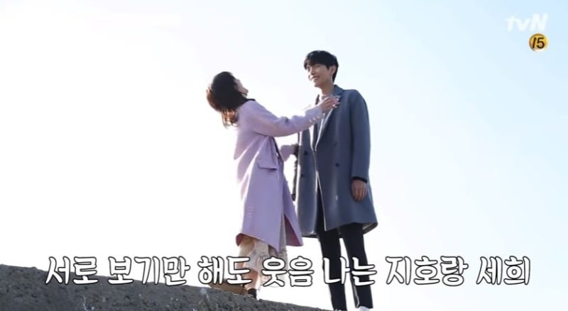 Watch: Lee Min Ki And Jung So Min Can't Contain Their Laughter While Filming Their First Kiss Scene