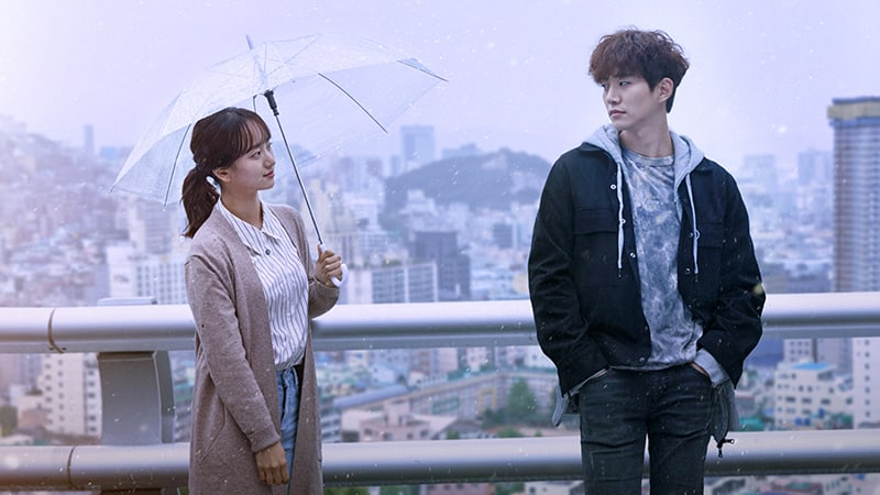 """Upcoming Drama """"Just Between Lovers"""" Unveils Posters Featuring 2PM's Junho And Won Jin Ah"""