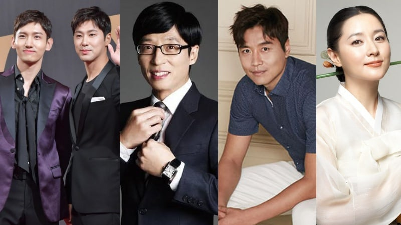 TVXQ, Yoo Jae Suk, And Other Celebrities Donate To Aid Pohang Earthquake Relief Efforts