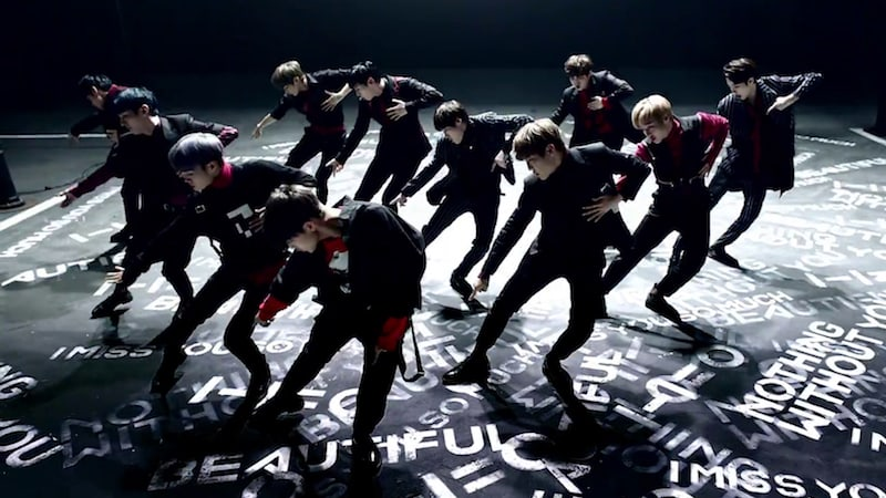 "Watch: Wanna One Stuns With Performance Version MV For ""Beautiful"""