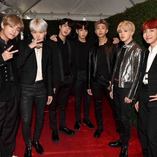 AMAs Releases Photos Of BTS During Performance And Behind The Scenes