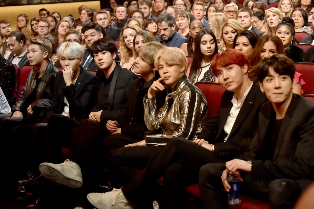 BTS Grabs No. 1 On Google Search Trends After AMAs Performance