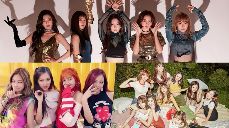 red velvet names the girl group members they d love to perform with
