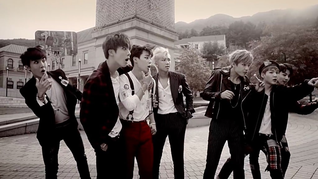 "BTS's ""War Of Hormone"" Becomes Their 11th MV To Reach 100 Million Views"