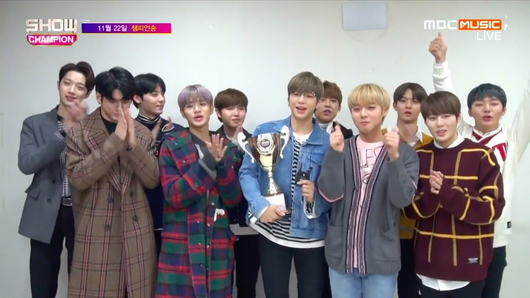 "Watch: Wanna One Takes 1st Win For ""Beautiful"" On ""Show Champion,"" Performances By Red Velvet, SEVENTEEN, KARD, And More"