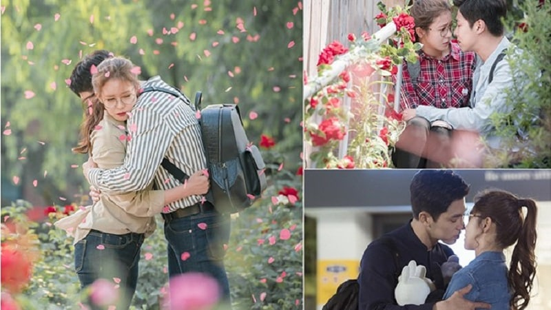 """New Photos From """"Melo Holic"""" Show The Blooming Romance Between TVXQ's Yunho And Kyung Soo Jin"""