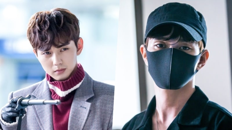 "Yoo Seung Ho Is All Covered Up To Avoid Human Contact In New Stills For ""I Am Not A Robot"""