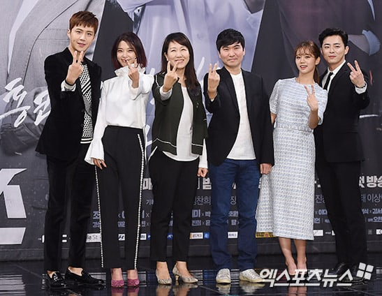 """Cast And Crew of """"Two Cops"""" Praise Jo Jung Suk For His Leadership And Dependability On Set"""