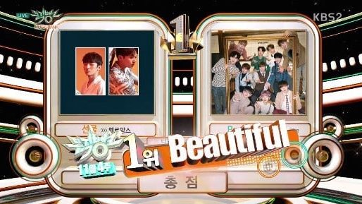 "Watch: Wanna One Takes 3rd Win For ""Beautiful"" On ""Music Bank,"" Performances By SEVENTEEN, TWICE, KARD, And More"