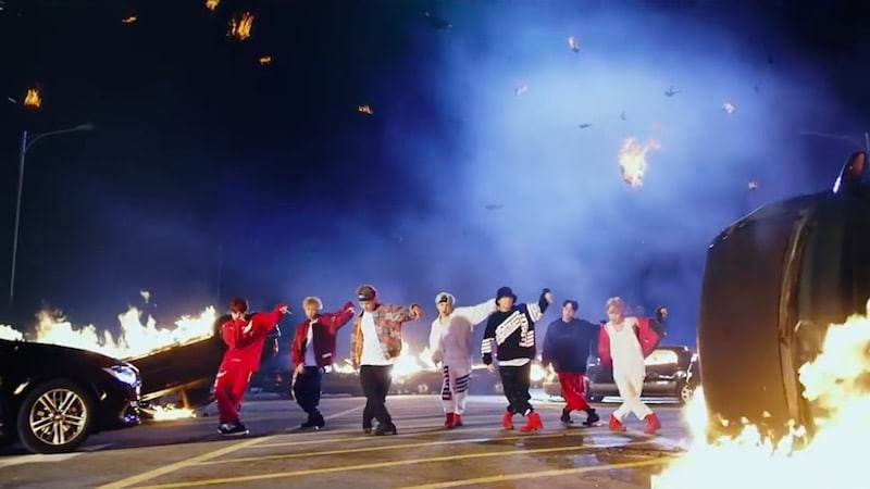 "BTS Becomes First K-Pop Group To Enter Top 40 Of Billboard's Hot 100 With ""MIC Drop"""