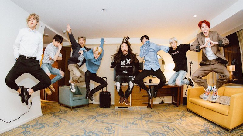 "BTS Tops Impressive Number Of iTunes Song Charts Worldwide With ""MIC Drop"" Remix"