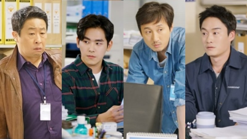 """Two Cops"" Reveals Stills Of Jo Jung Suk's Loyal Partners In Fighting Crimes"